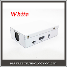 Free shipping! White Metal Box – Iron Case For Raspberry Pi B+ Model B Plus & Raspberry Pi 2 With Fan Also Fit For Camera