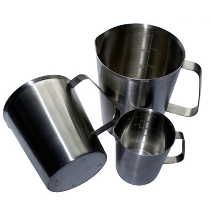 Thickening Of 304 Stainless Steel Milk Cup Scale Measuring Garland Kitchen Tools 0.5 0.7