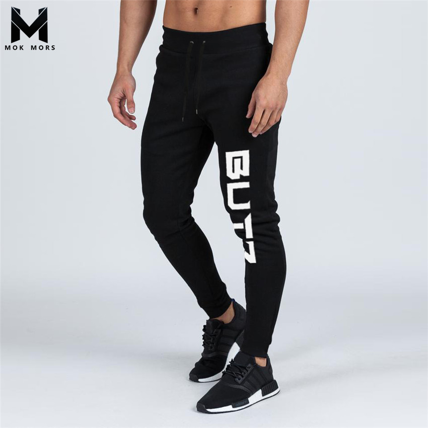 pre order beautiful in colour half off US $18.97 30% OFF Men's New High Street Jogger Sportswear Slim Mens Joggers  Fashion Brand Men's New BUTZ Printing Cotton Low Waist Men Pants-in Skinny  ...