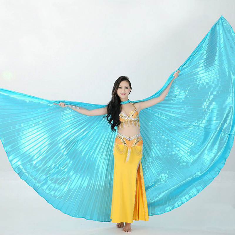 2018 Beautiful Belly Dance Isis Wings Oriental Design New Wings without Sticks