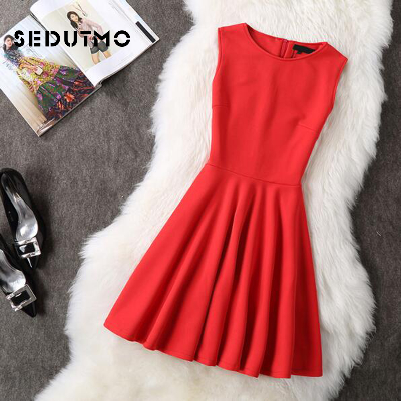 27cdc09f21e Aliexpress.com   Buy SEDUTMO Winter Plus Size 3XL Dress Women Sexy Tunic  Dresses Winter Vintage Basic Sundress Slim Black Party Dress ED025 from  Reliable ...