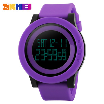 Skmei 1142 Men Outdoor Sports Digital Watch LED Simple male Wristwatch Fashion Casual 50M Waterproof Electronic men Wristwatches
