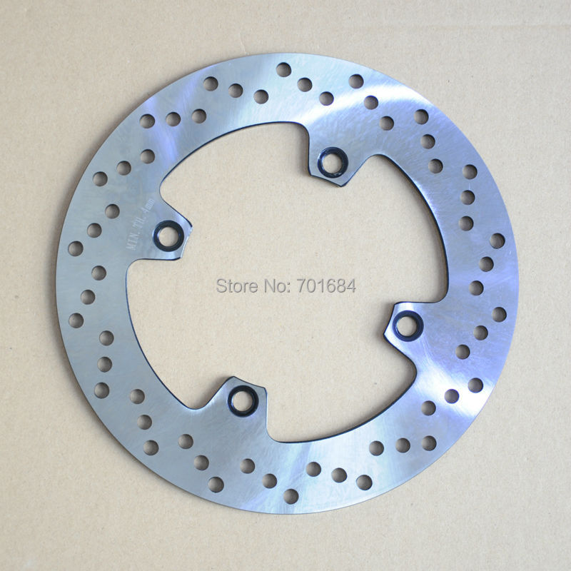 ФОТО Motorcycle New One Piece Rear Brake Rotor Disc For Suzuki AN650 2002 2003 [PA407]
