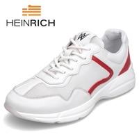 Генрих новый список дышащая Для мужчин повседневная обувь кроссовки модные кроссовки для Для мужчин Туфли без каблуков Повседневное сетки