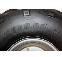 16X8-7 «дюймовый 4 Стад Оправы Колеса + Шины 150cc 125cc Quad Байк ATV Багги