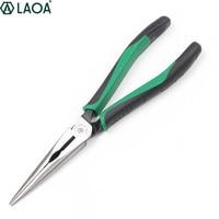 LAOA الأمريكية نوع CR-MO كماشة طويلة الصلب سبائك الصلب كماشة الصيد أدوات يدوية للكهربائي المهنية