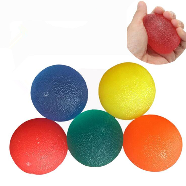 Silicone Massage Therapy Grip Ball For Hand Finger Strength Exercise Stress Relie