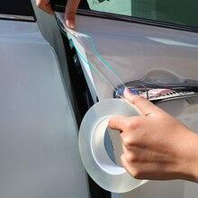 Автомобильная наклейка s, Защитная пленка для салона автомобиля, Защитная пленка для края двери, наноклей для двери БАГАЖНИКА АВТОМОБИЛЯ, порога, стикер всего тела, виниловые аксессуары