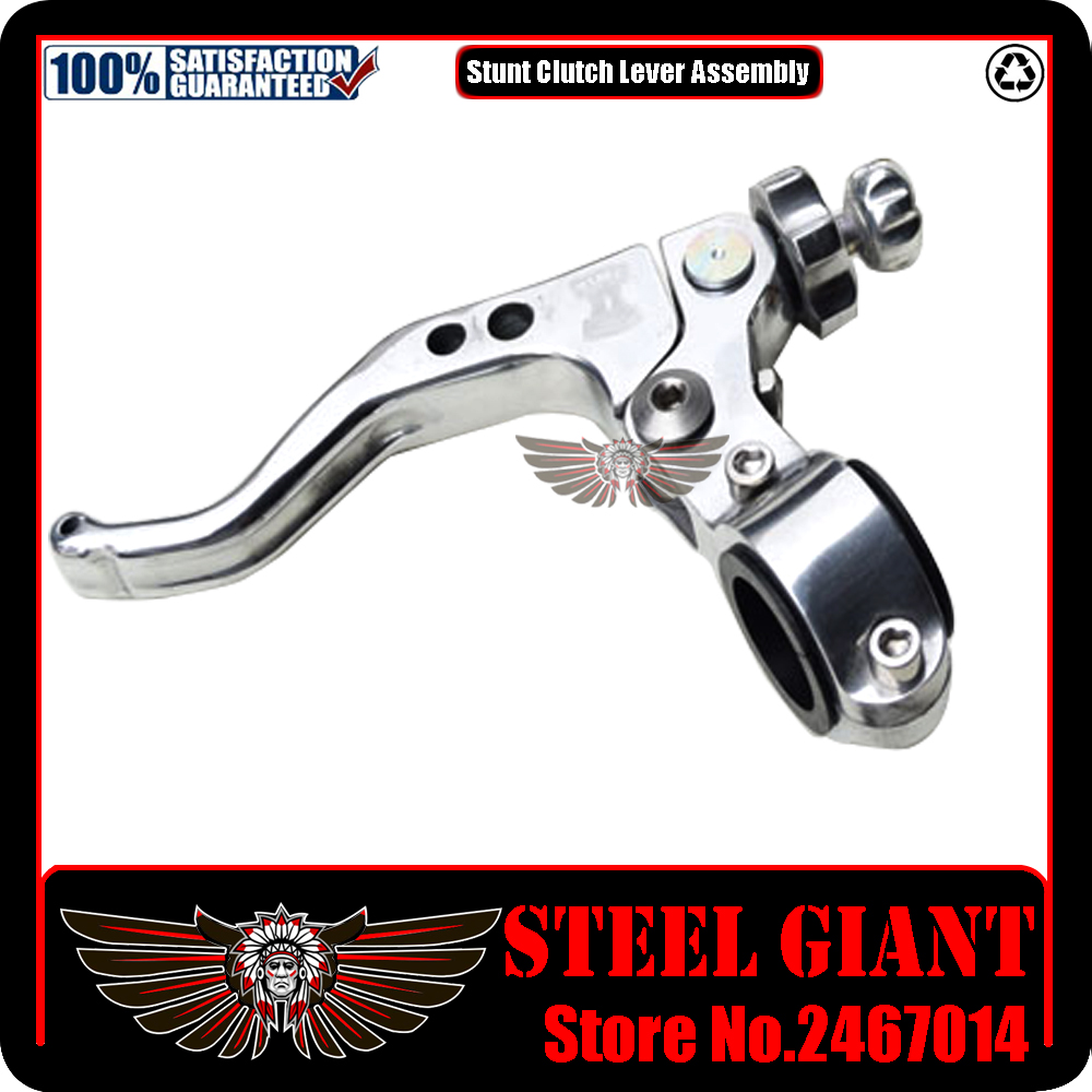 ФОТО 22mm Performance Stunt Clutch Lever Motocross Dirt Bike Pit Motorcycle Racing Spare Parts