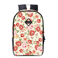 Mochila Lovely Floral Printing Backpack Women School Bag for Teenage Girls  Cute Bookbags Vintage Laptop Backpacks for Christmas