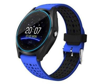 Reloj inteligente Bluetooth Cámara rastreador de Fitness recordatorio Monitor de sueño Dial/llamada SIM tarjeta TF pulsera de reloj