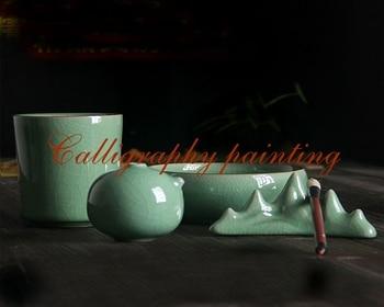 Herramienta de caligrafía para pintar tinta china agua gotas de agua