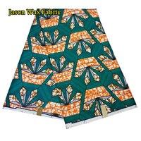 2017 new arrival odzież afrykańskiego wosku wosk drukuje afrykańskie tkaniny 6 metrów dla partyjnej sukni