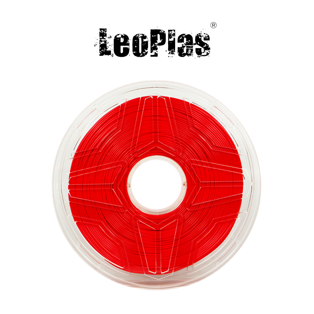 Worldwide Fast Delivery Direct Manufacturer 3D Printer Material 1 kg 2.2 lb 1.75mm Red PLA Filament