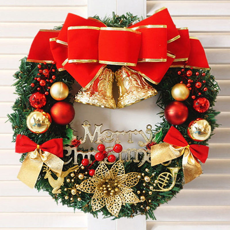 Online buy wholesale luxury christmas wreath from china for Exclusive christmas decorations