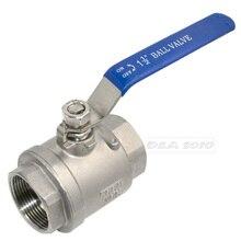 1 — 1/2 » полный шаровой клапан 2 шт. винил ручка WOG1000 нержавеющей стали SS316Good качество