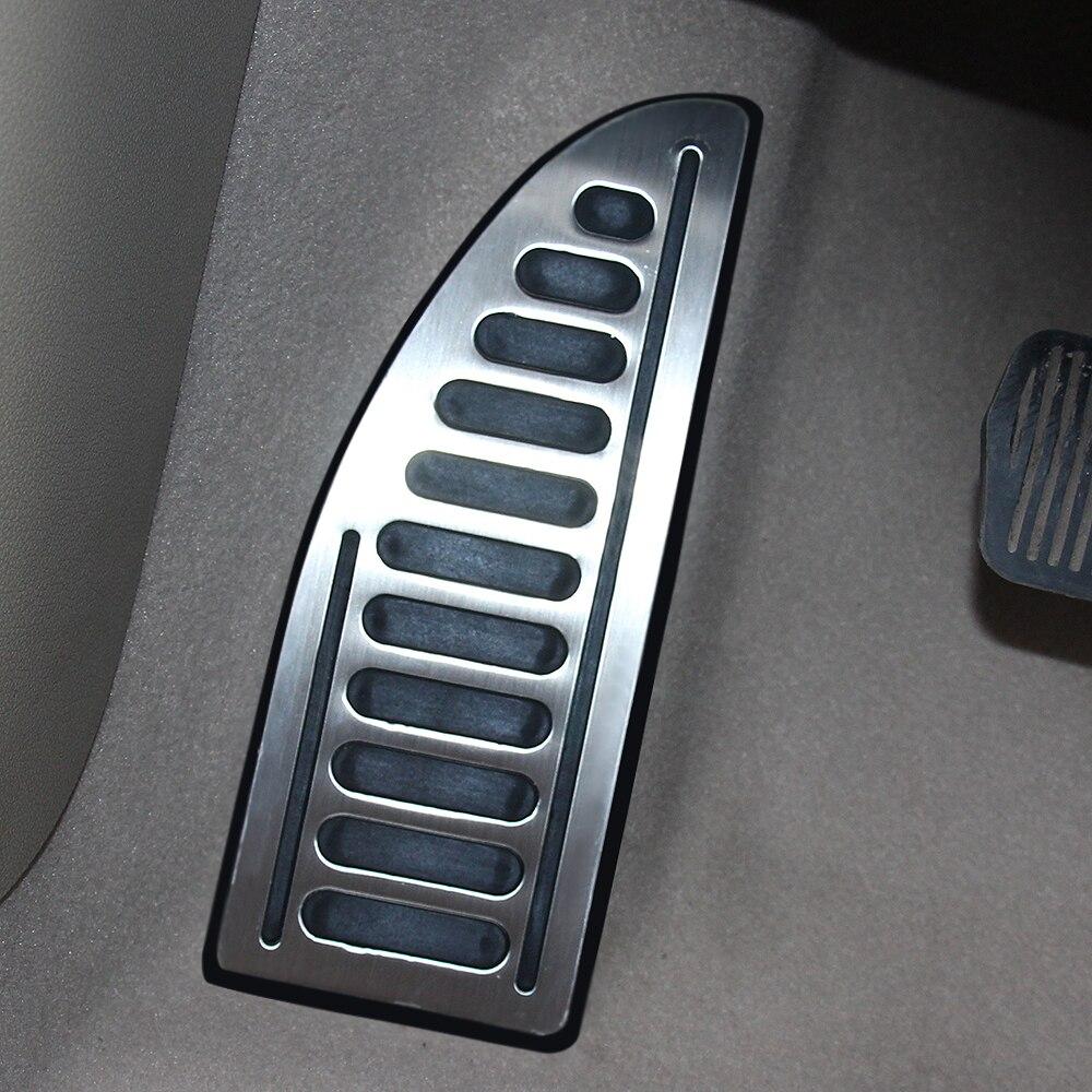 Auto Foot Rest Pedal Pad Anti-skid Styling Car Accessories For Ford Focus MK2 MK3 Fiesta MK7 Mondeo MK4 S-Max C-Max Escape Kuga