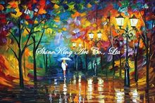 palette knife oil painting  modern oil painting canvas oil painting K368