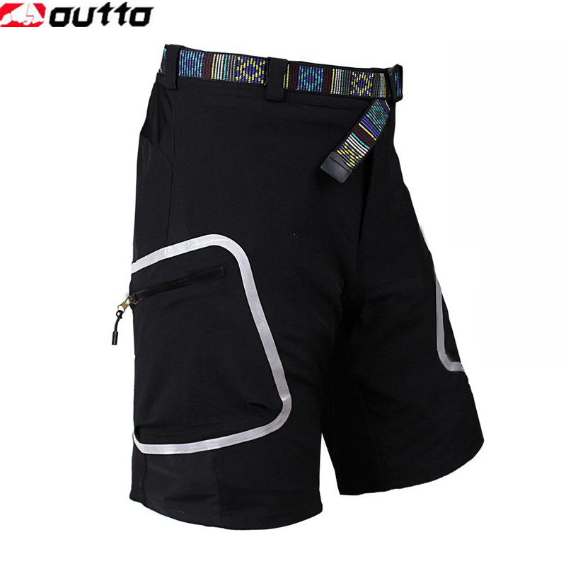 OUTTO Cycling Shorts Outdoor Sports Bicycle Downhill MTB Shorts Mountain Cycle Bike Breathable Loose Shorts marled loose top and high waisted shorts women s twinset