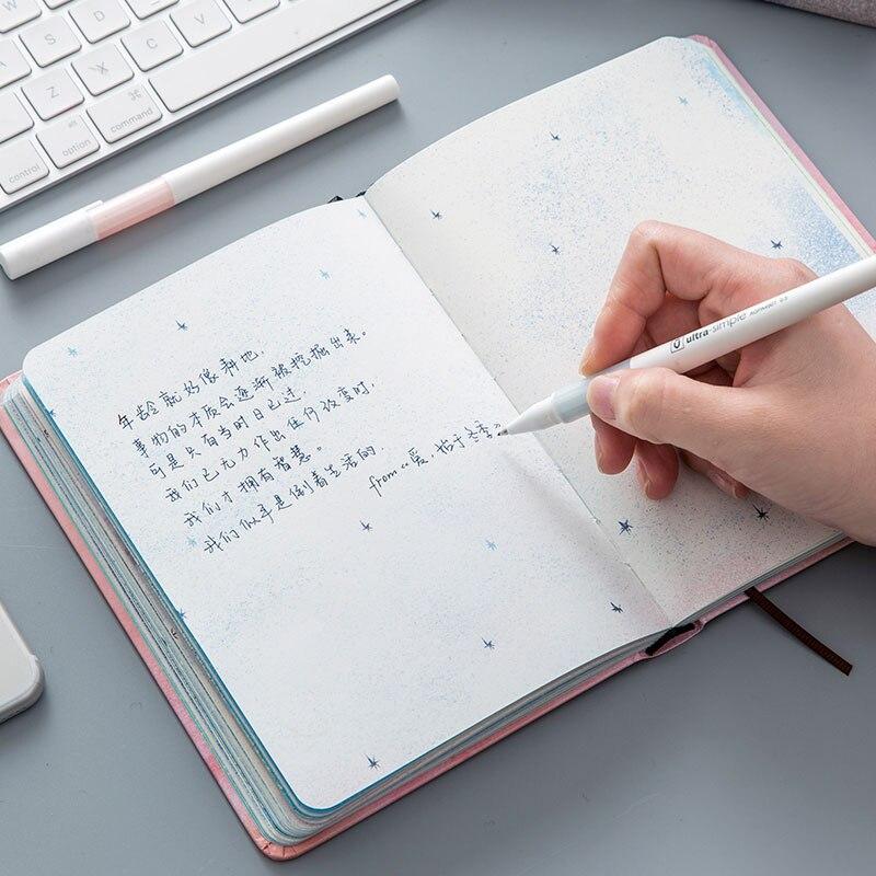 Kreative trend Farbe Seiten A5 Notebook Kleine Blaue Haus Tagebuch ...