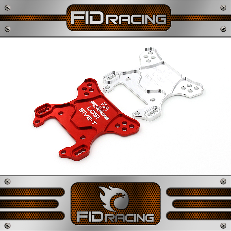 FID racing CNC machined alloy front shock tower for losi 5ive t kmx2 rovan lt