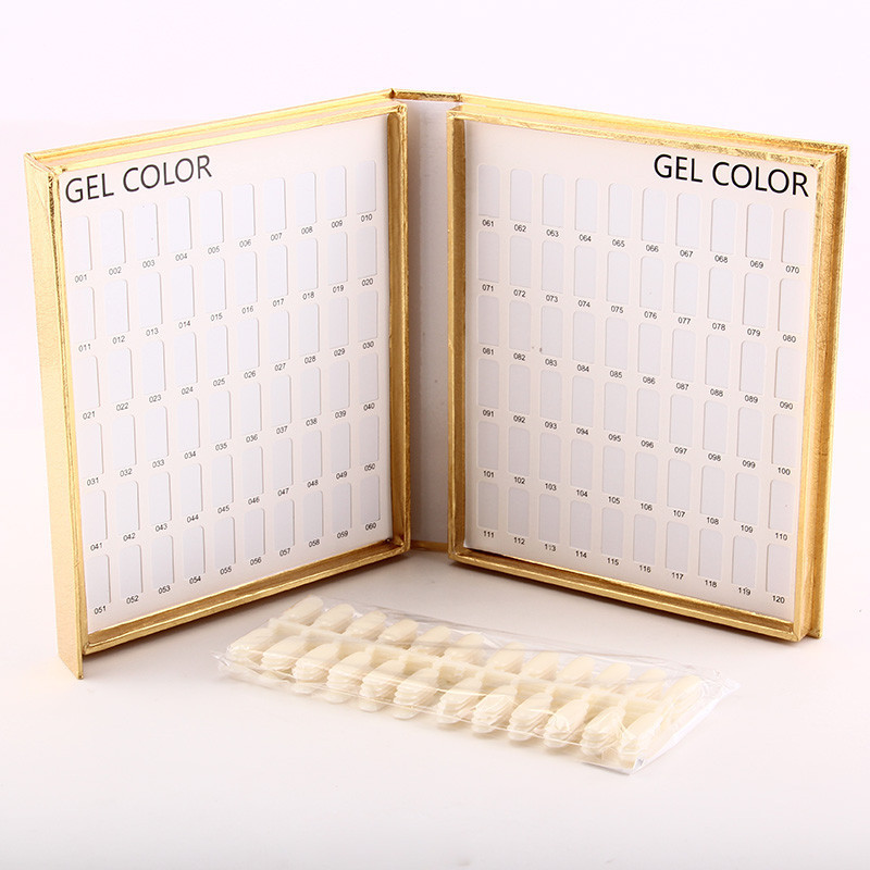 Makartt 10 unids/set nail display libro Kits de manicura 120 carta ...