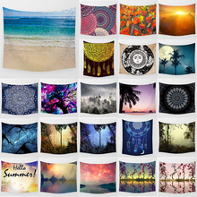 Unicorn tapestry sea hello summer  wall hanging home decoration large rectangle bedroom