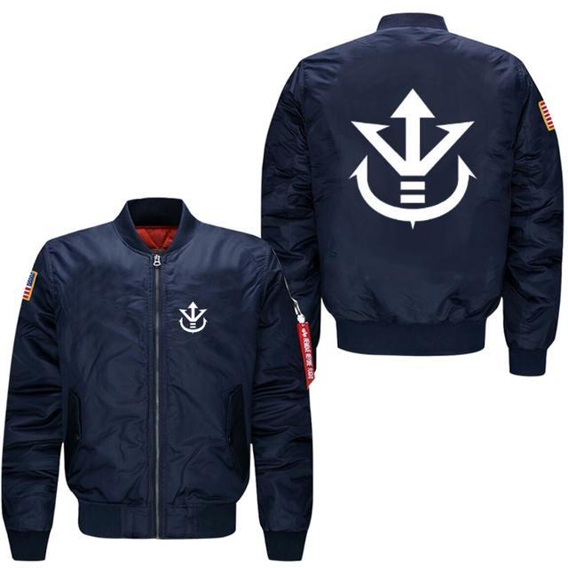 Dragon Ball Z Vegeta Saiyan Royal Crest Pilot Jacket (3 colors)