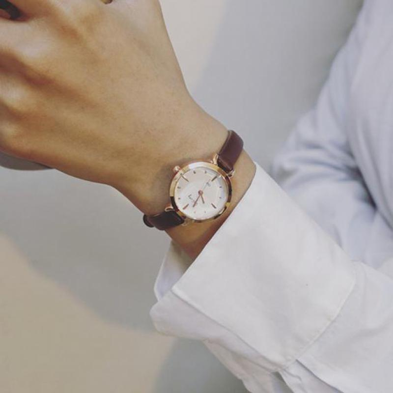 2018 Hot Sale New Luxury Ulzzang Thin Strap Small Dial Wristwatches Quartz Watch Women Girls Ladies Rose Gold цена