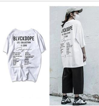 11c3fb91f88b0 Punk Blvckdope T-shirt kanye west Hip Hop tshirt Novo design camisa dos homens  t de moda verão top dos homens de rua roupas de Frio camisetas