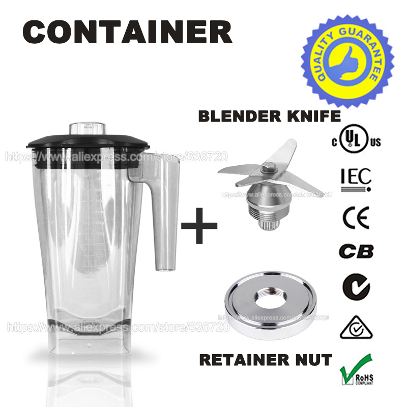 ФОТО G5500 Blender knife & container & Retainer Nut