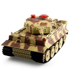 518 1/24 RC Tank Crawler IR Remote Control Toys Simulation Infrared RC Fighting Battle Tank Toy RC Car Tank Model Xmas Toy Hobby