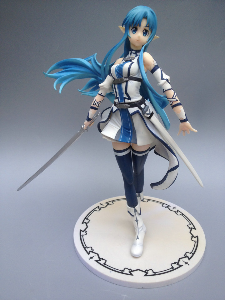 bulkcargo Anime Sword Art Online Figure 2 SAO ALO Figure Asuna FIghting 150MM PVC Action Figure Doll Toys for christmas sword art online action figure figma shino kazuto asuna pvc 150mm toys anime sword art online series
