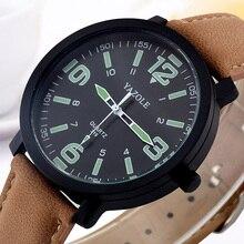YAZOLE Ceasuri 시계 남자 시계 톱 브랜드 럭셔리 hodinky 남성 시계 패션 남자 빛나는 석영 손목 시계 reloges hombre Saat