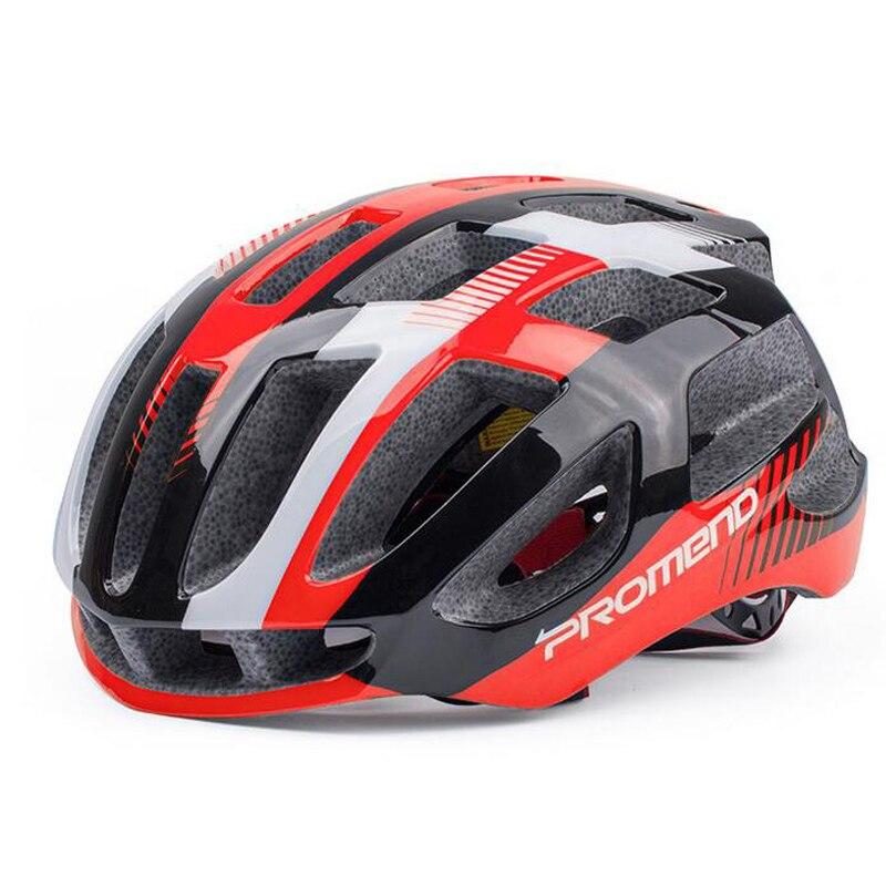 Pro Мужчины d горный велосипед езда шлем цельные очки легкий шлем дорожный велосипед мужчины и женщины очки - 4