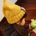 2017 Nueva Niña Sombrero de Invierno de Punto Recién Nacido Del Ganchillo Del Bebé niñas sombrero niños pezón cap beanie infantil niños gorro de lana cap