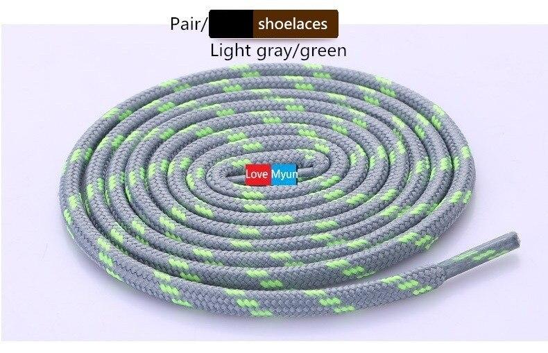 Новые уличные спортивные повседневные разноцветные Круглые шнурки для пеших прогулок шнурки кроссовки с шнурками Катание на коньках ботинки шнурки - Цвет: as picture