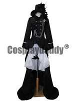 Japanse Anime Outfit Black Butler Ciel Phantomhive cosplay costume