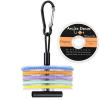 Flouorocarbon Tippet Line 2 3 4 5 6X Fly Fishing Tippet Line With Tippet Holder Line