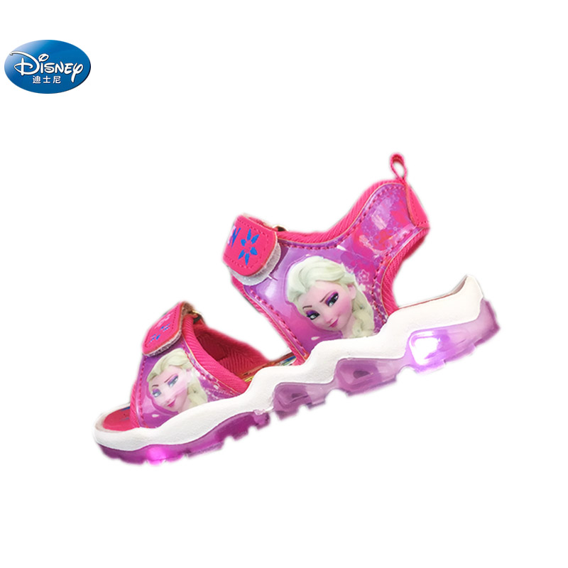36d116dced Disney frozen elsa and Anna princess sandals with new LED light 2108 ...