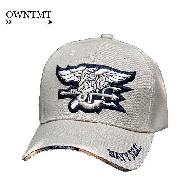 Chapéu do Snapback do boné de Beisebol ao ar livre Do Exército DOS EUA Navy  Seals c4e0721b426