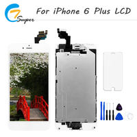 1PCS AAA Quality Screen For Apple IPhone 6 PLUS LCD Display Touch Screen Digitizer With Home