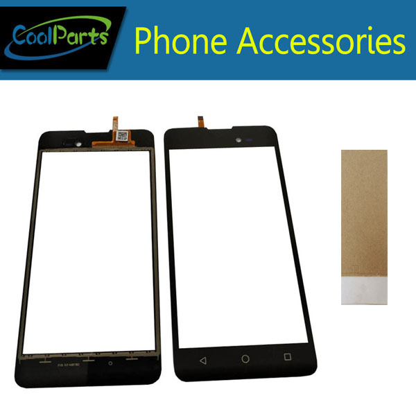 1PC/Lot High Quality ForBQ BQ-5035 Velvet BQ 5035 BQS 5035 Touch Screen Digitizer Panel Lens Glass With Tape Black Color