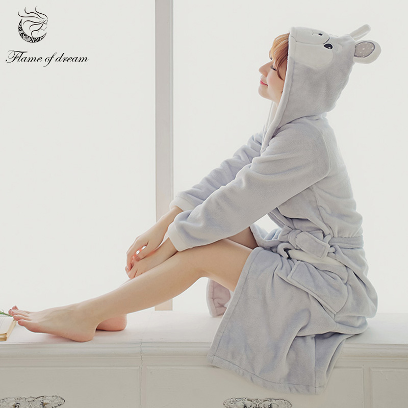 Winter Robes For Women Kimono Bath Robe Plus Size Robe 1158 ...