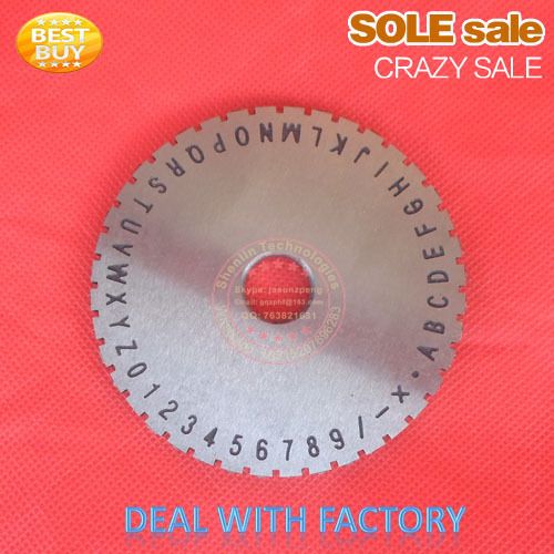 цены Alloy plate of letter and number for metal sheet embosser metal sheet stampping letter gear stainless steel dog tag disk of font