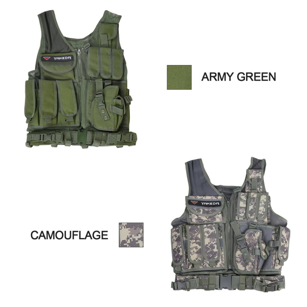 Men Military Tactical Vest Army Hunting Molle Airsoft Combat Assault Plate Carrier Vest Outdoor CS Armor Battle suit Hot sales цены