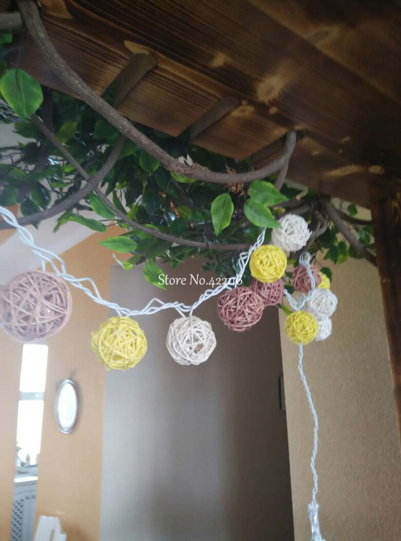 Luz Conduzida da Corda natal de casamento decoração Material do Corpo : Plástico