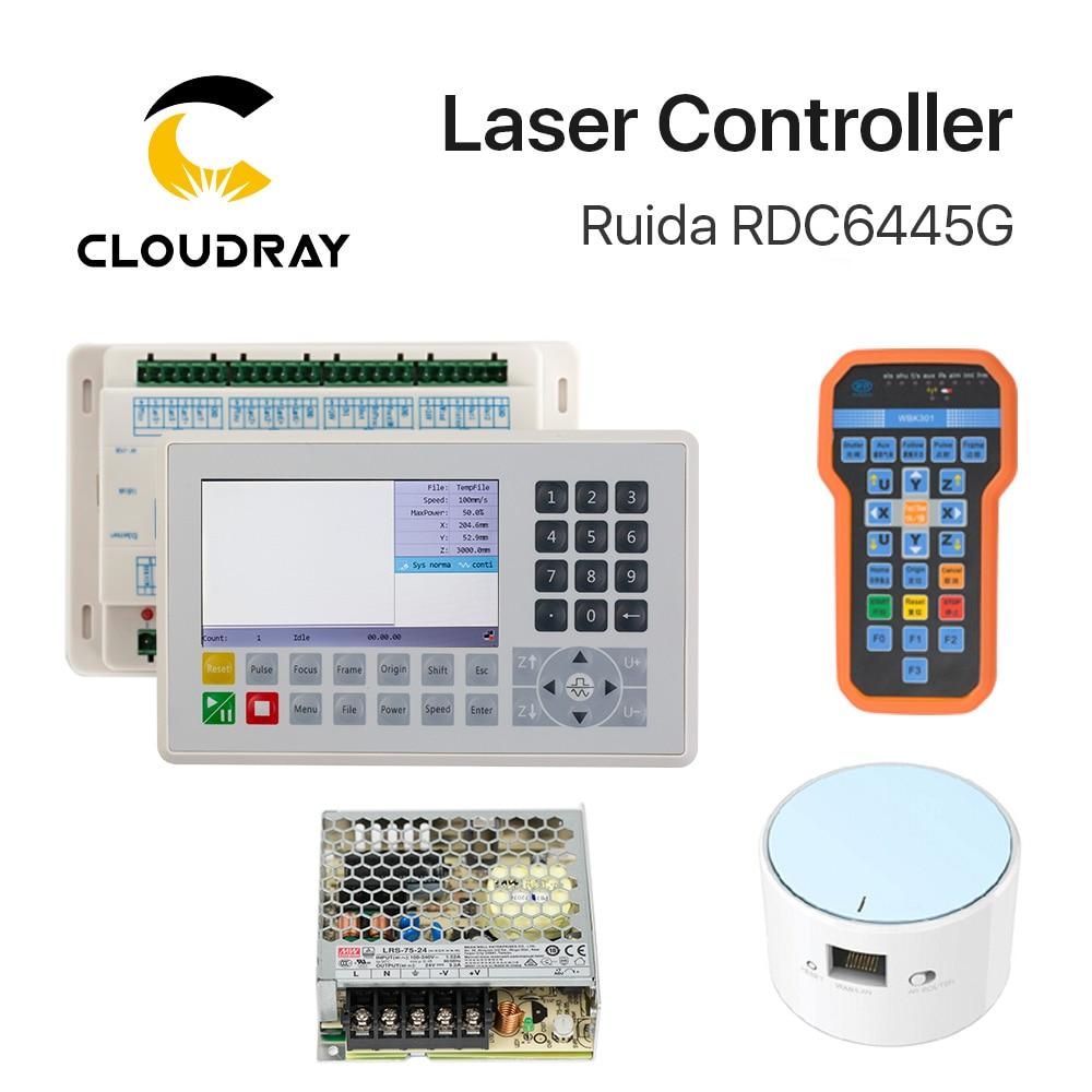 Ruida RDC6445 RDC6445G kontroller Co2 lasergraveerimisega - Puidutöötlemismasinate varuosad - Foto 6
