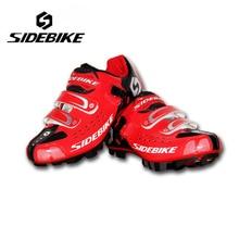 SIDEBIKE Cycling Shoes Mountain bike Racing Bicycle Shoes Self-Locking Bike Sapatilha mtb Shoes zapatillas de ciclismo Eur 40-45
