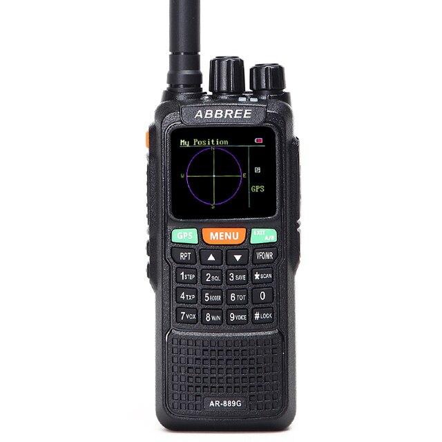 Abbree ar-889g gps 10w walkie talk